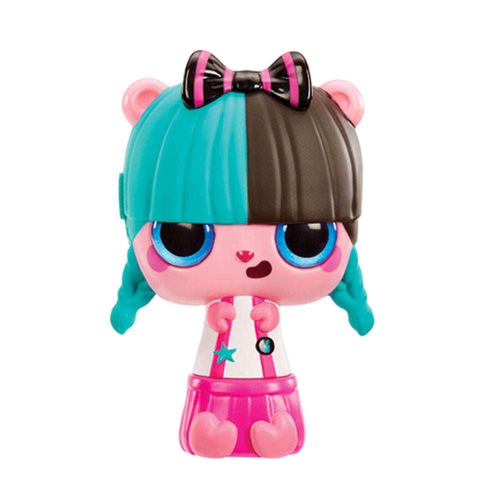 Mini Boneca e Acessórios Surpresa - Pop Pop Hair - 3 em 1 - Roll - Candide
