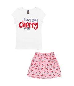 Conjunto-Infantil---Camisa-Cherry-e-Saia---Algodao-e-Elastano---Branco---Duduka---4-1