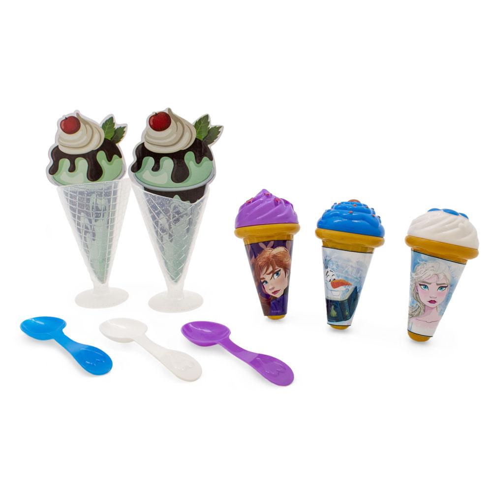 Conjunto de Atividades - Kit Sorveteria - Disney - Frozen 2 - Toyng