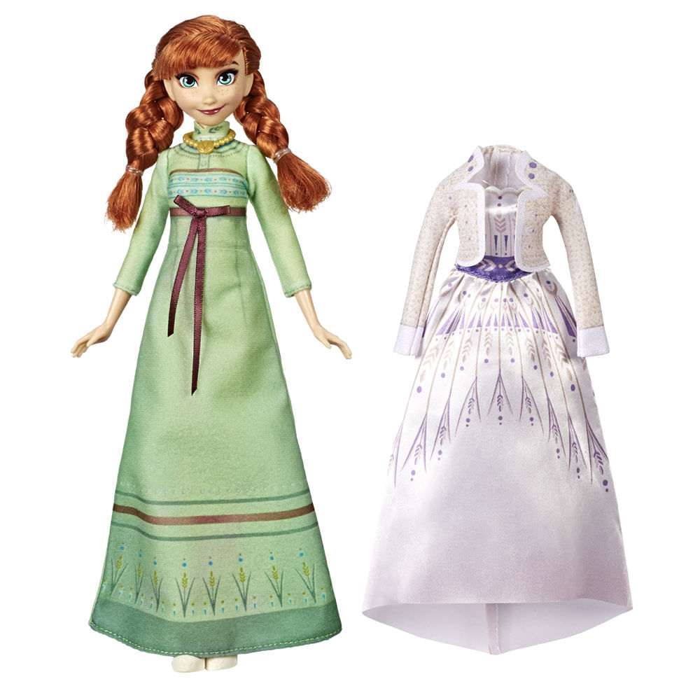 Boneca Articulada - Disney - Frozen 2 - Troca de Roupa - Anna - Hasbro