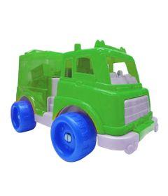 Veiculo-e-Blocos-de-Encaixe---Verde-e-Azul---Gulliver