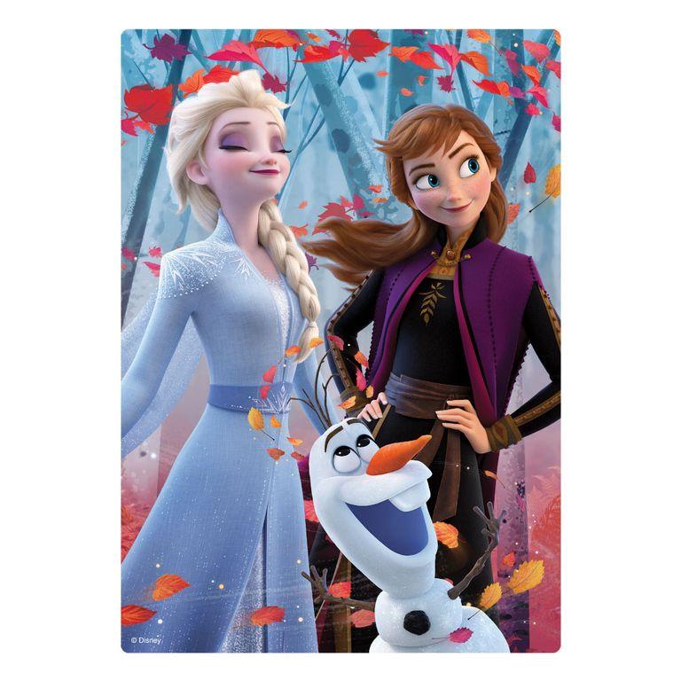Quebra Cabeca 200 Pecas Disney Frozen 2 Elsa E Anna