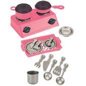 Conjunto-de-Acessorios---Master-Kitchen---Mini-Chef---20-Pecas---Rosa---FanFun_Frente