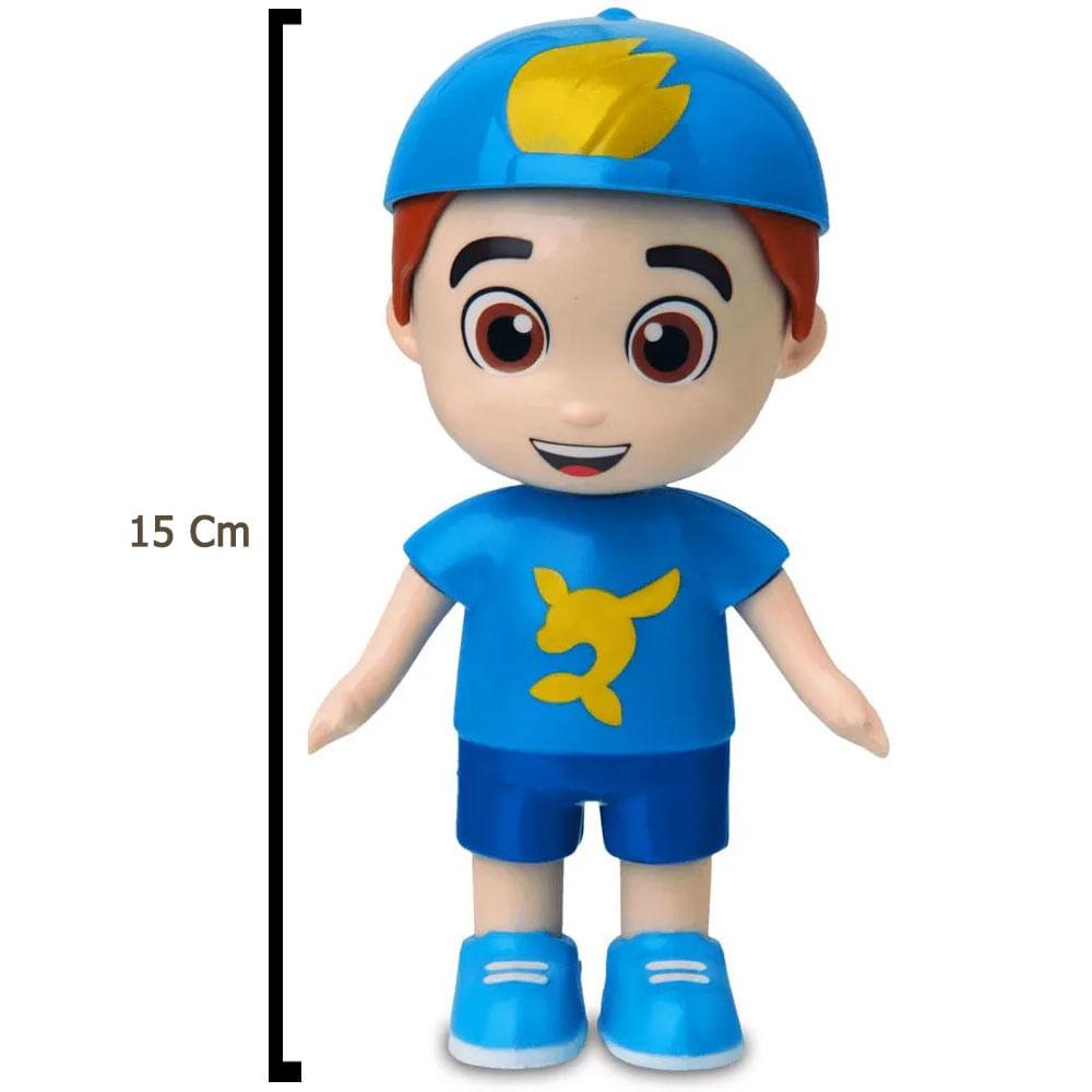 Mini Boneco Articulado - 15 Cm - Luccas Neto - Elka