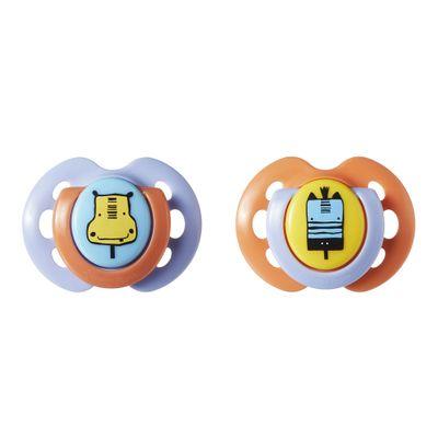 chupeta-fun-style-0-a-6-meses-tommee-tippee-2-pecas-roxo-e-laranja--multikids-533360_Frente