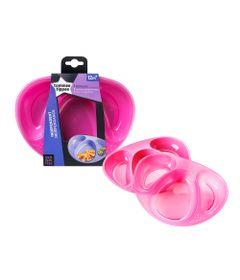 conjunto-de-pratos-com-divisoria-tommee-tippee-2-pecas-rosa-multikids-530221_Frente