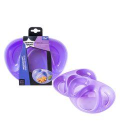 conjunto-de-pratos-com-divisoria-tommee-tippee-2-pecas-roxo-multikids-530221_Frente