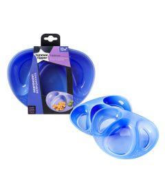 conjunto-de-pratos-com-divisoria-tommee-tippee-2-pecas-azul-multikids-530221_Frente