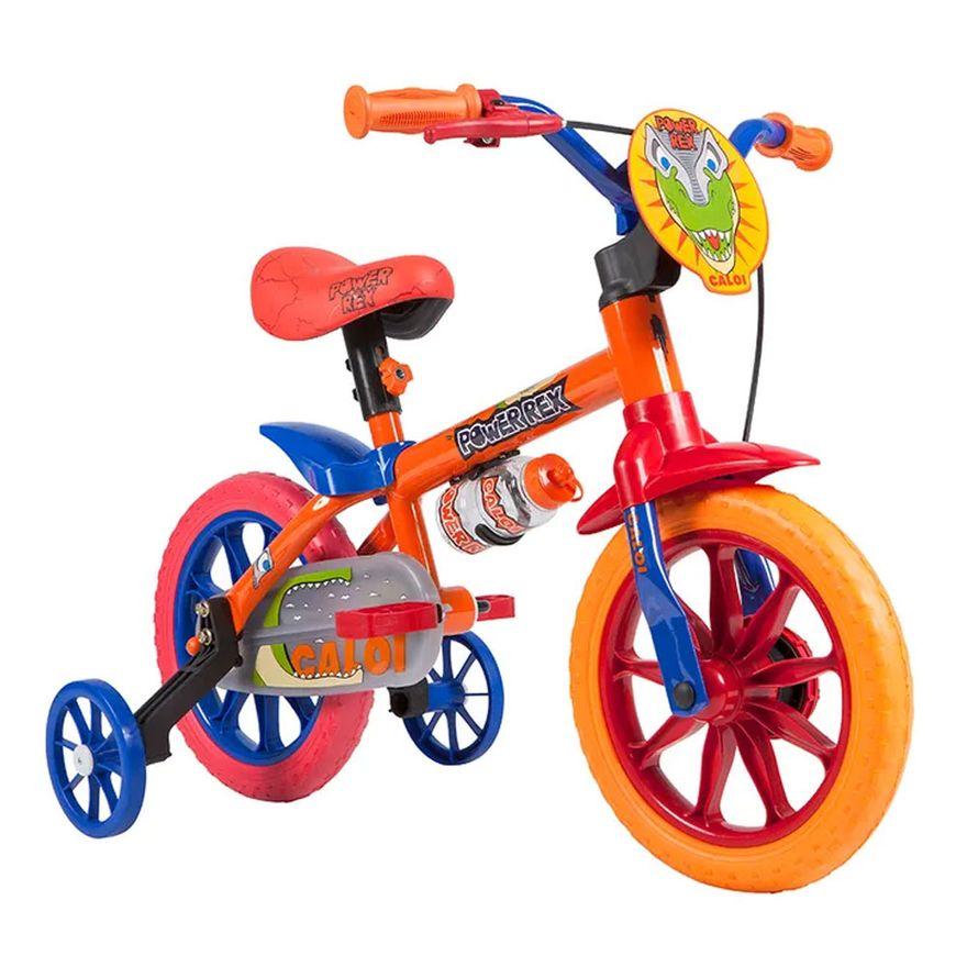 Bicicleta-Aro-12---Power-Rex---Laranja-e-Azul---Caloi-2