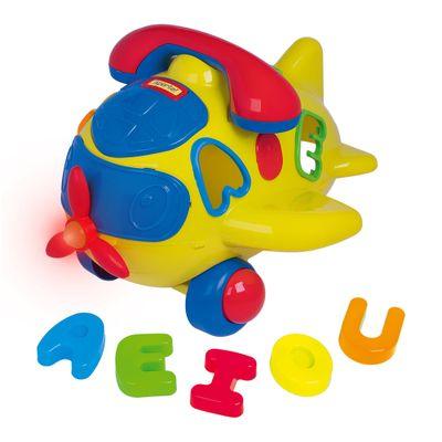 brinquedo-educativo-play-time-aviaozinho-amarelo-cotiplas-2312_Frente