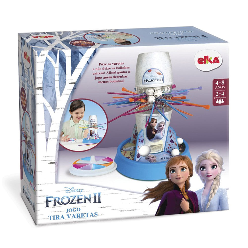 Jogo - Disney - Frozen 2 - Tira Varetas - Elka