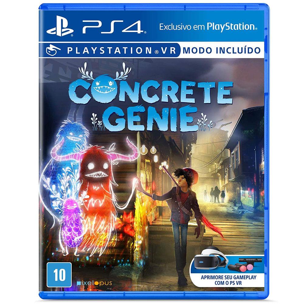 Jogo PS4 - Concrete Genie - Sony
