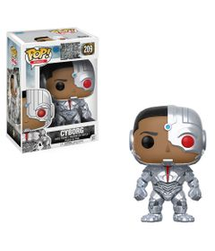 Figura-Colecionavel---Funko-Pop---DC-Comics---Liga-da-Justica---Cyborg---Funko