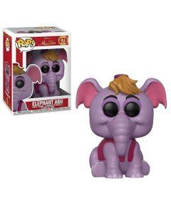 Figura-Colecionavel---Funko-Pop---Disney---Aladdin---Elefante-e-Abu---Funko