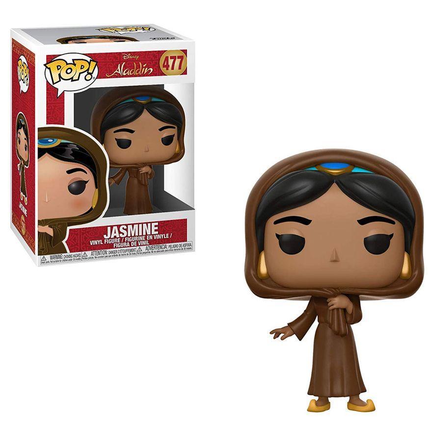 Figura-Colecionavel---Funko-Pop---Disney---Aladdin---Jasmine-com-Disfarce---Funko