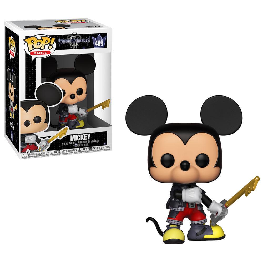 Figura Colecionável - Funko Pop - Disney - Kingdom Hearts 3 - Mickey - Funko
