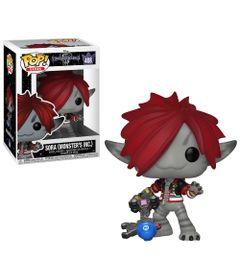 Figura-Colecionavel---Funko-Pop---Disney---Kigdon-Hearts-3---Sora---Monstros-SA---Funko