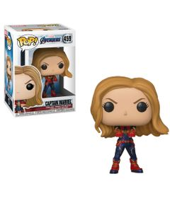 Figura-Colecionavel---Funko-Pop---Disney---Marvel---Vingadores---Ultimato---Capita-Marvel---Funko