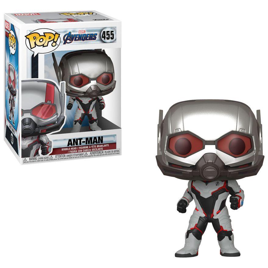 Figura-Colecionavel---Funko-Pop---Disney---Marvel---Vingadores---Ultimato---Homem-Formiga---Funko