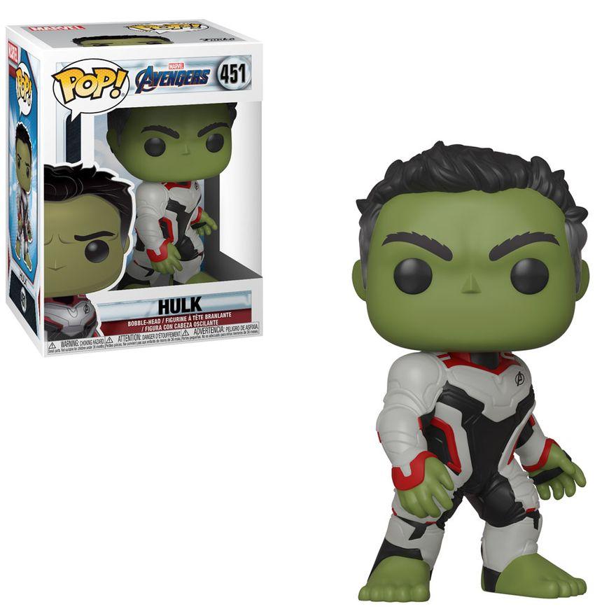 Figura-Colecionavel---Funko-Pop---Disney---Marvel---Vingadores---Ultimato---Hulk---Funko