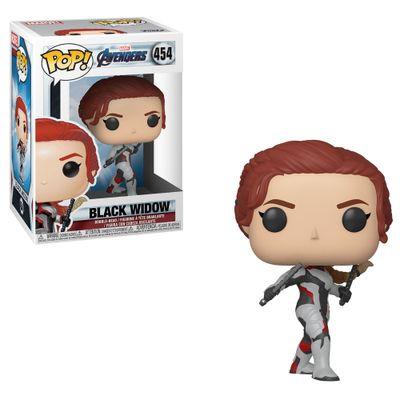 Figura-Colecionavel---Funko-Pop---Disney---Marvel---Vingadores---Ultimato---Natasha-Romanoff---Funko