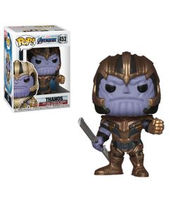 Figura-Colecionavel---Funko-Pop---Disney---Marvel---Vingadores---Ultimato---Thanos---Funko