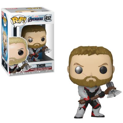 Figura-Colecionavel---Funko-Pop---Disney---Marvel---Vingadores---Ultimato---Thor---Funko