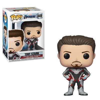 Figura-Colecionavel---Funko-Pop---Disney---Marvel---Vingadores---Ultimato---Tony-Stark---Funko
