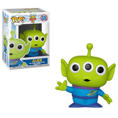 Figura-Colecionavel---Funko-Pop---Disney---Toy-Story-4---Alien---Funko