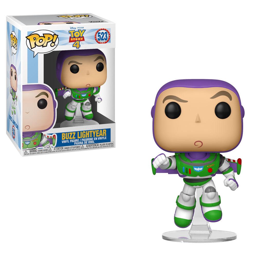 Figura Colecionável - Funko POP - Disney - Toy Story 4 - Buzz - Funko