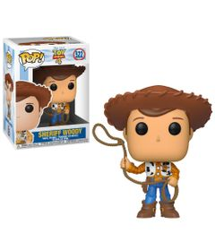 Figura-Colecionavel---Funko-Pop---Disney---Toy-Story-4---Woddy---Funko