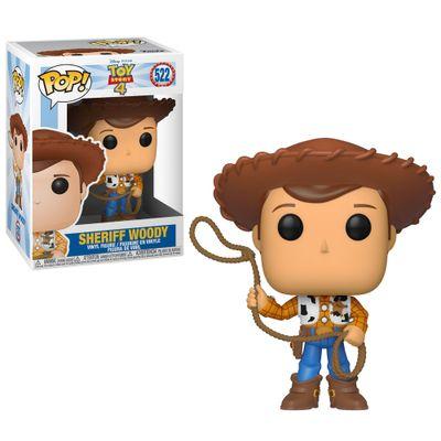 Figura-Colecionavel---Funko-Pop---Disney---Toy-Story-4---Woddy---Funko