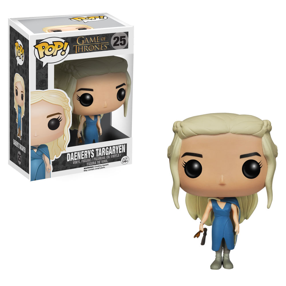 Figura Colecionável - Funko POP - Game Of Thrones - Daenerys Mhysa - Funko