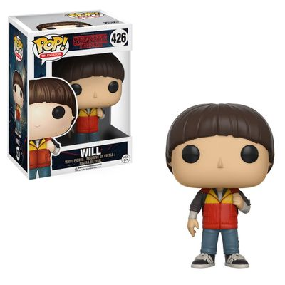 Figura-Colecionavel---Funko-Pop---Stranger-Things---Will---Funko