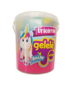 Balde-de-Slime---457-Gr---Gelele-Unicornio---3-Cores---Arco-Iris---Doce-Brinquedo