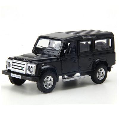 Mini-Veiculo---1-32---Hot-Wheels-com-Luzes-e-Sons---Land-Rover-Defender---California-Toys