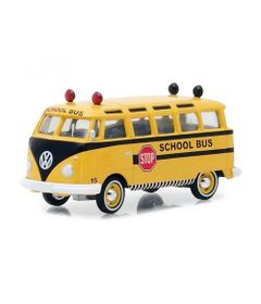 Mini-Veiculo-Collectibles64---Escala-1-64---1964-Volkswagen---Samba-Bus---California-Toys