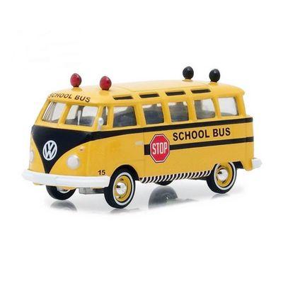 Mini-Veiculo-Collectibles64---Escala-1-64---1964-Volkswagen---Samba-Bus---California-Toys