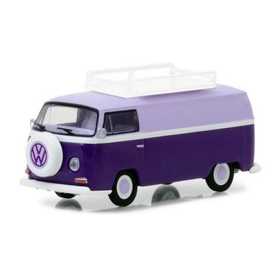 Mini-Veiculo-Collectibles64---Escala-1-64---1971-Volkswagen-Type-2---Panel-Van---California-Toys