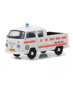 Mini-Veiculo-Collectibles64---Escala-1-64---1977-Volkswagen-Type-2---Double-Cab---Pick-Up---California-Toys