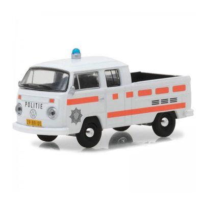 Mini-Veiculo-Collectibles64---Escala-1-64---1977-Volkswagen-Type-2---Double-Cab---Pick-Up---California-Toys