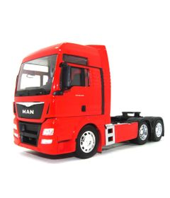 Mini-Veiculo---Die-Cast---1-32---Volkswagen---Man-TGX---Vermelho---California-Toys
