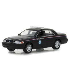 Mini-Veiculo---Die-Cast---1-64---2010-Ford-Crown-Victoria---Police-Interceptor---Greenlight---California-Toys