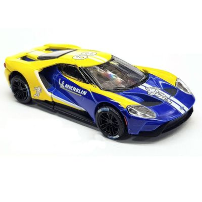 Mini-Veiculo---Die-Cast---1-64---2017-Ford-GT---Michelin---Greenlight---California-Toys