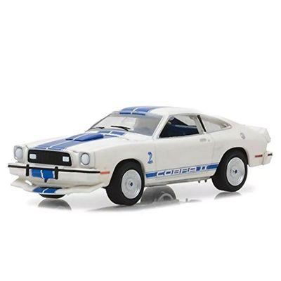 Mini-Veiculo---Die-Cast---1-64---Jill-Munroes-s-1976---Ford-Mustang-II-Cobra-II---Greenlight---California-Toys