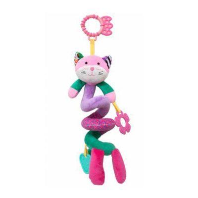 mordedor-e-chocalho-gatinho-mola-happy-zoo-rosa-claro-e-verde-escuro-buba_frente