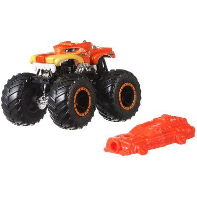 Veiculo-Die-Cast---Hot-Wheels---1-64---Monster-Trucks---Hotweiler---Mattel_Frente