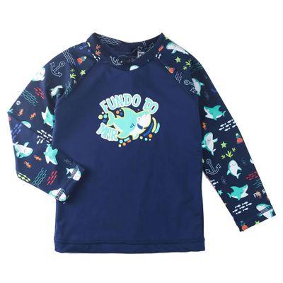 Camisa-Manga-Longa---Azul-Marinho---Estampa-Tubarao---Minimi_Frente