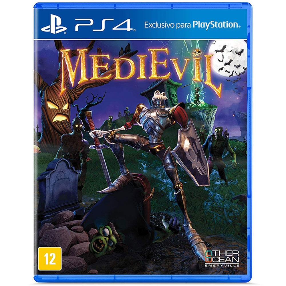 Jogo PS4 - Medievil - Sony