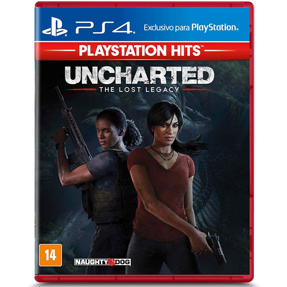 Jogo PS4 - Uncharted - The Lost Legacy - Sony